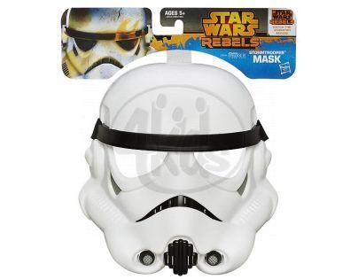 Hasbro Star Wars rebelská maska - Stormtrooper