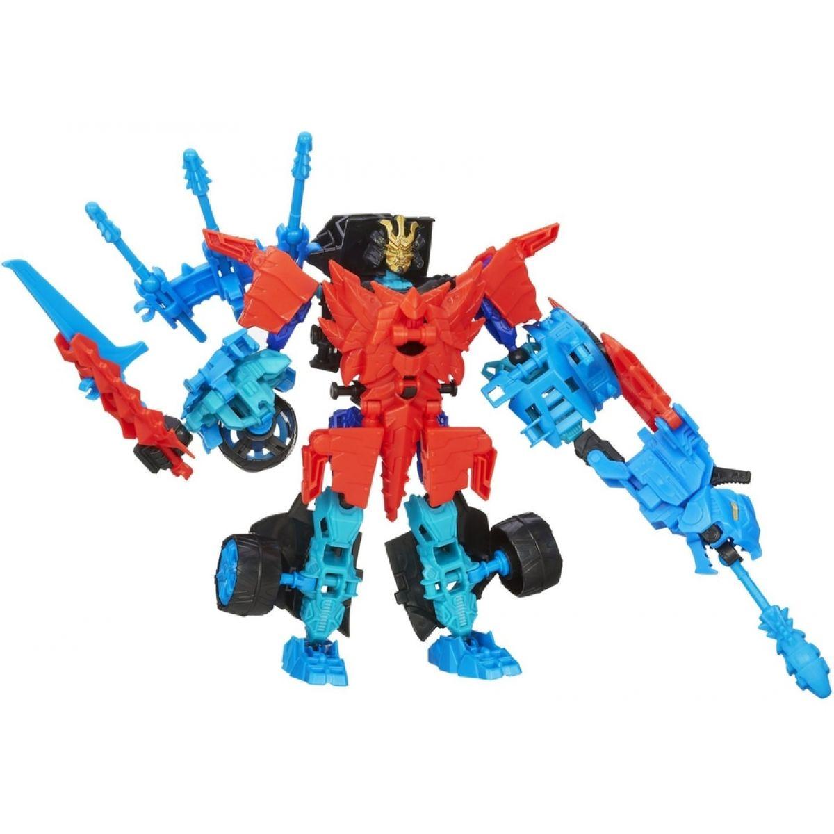 Hasbro Transformers 4 Construct Bots Autobot Drift a Rougneck Dino