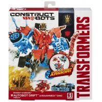 Hasbro Transformers 4 Construct Bots Autobot Drift a Rougneck Dino 3