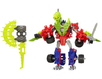 HASBRO A9871 - TRANSFORMERS 4 Construct Bots Optimus Prime & Gnaw Dino