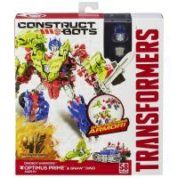 HASBRO A9871 - TRANSFORMERS 4 Construct Bots Optimus Prime & Gnaw Dino 3