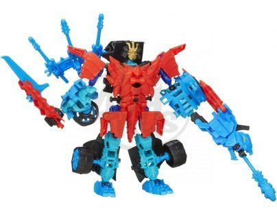 Transformers 4 Construct Bots Transformer se zvířetem - Autobot Drift a Roughneck Dino
