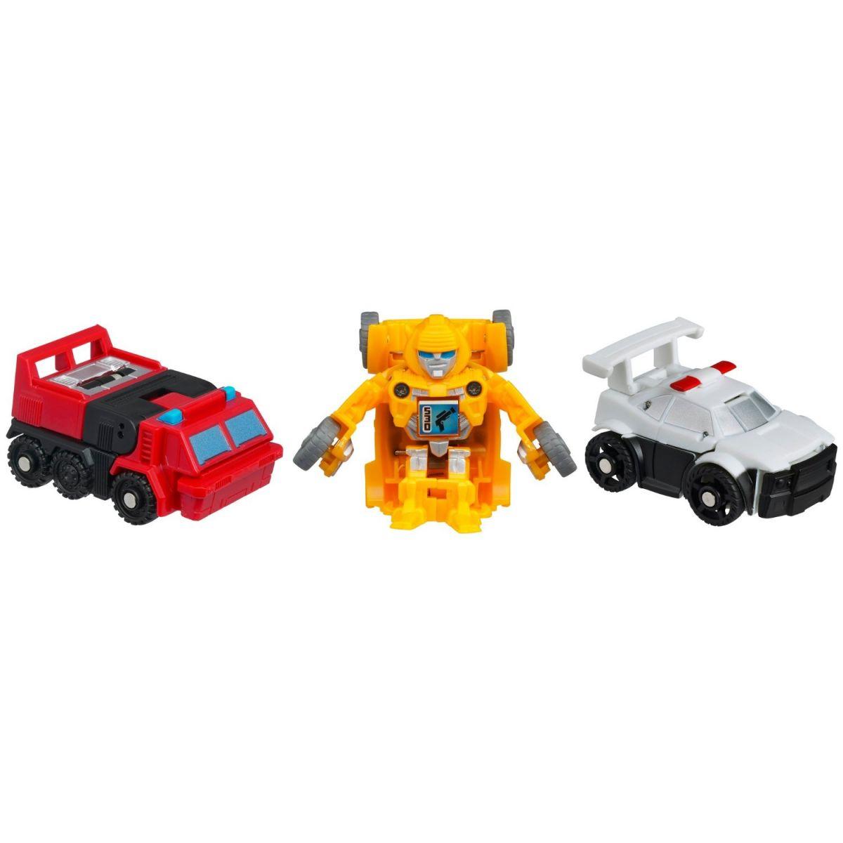 Transformers BOT SHOTS 3 transformeři Hasbro 37973 - SentinelPrime Prowl Bumblebee