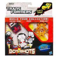 Transformers BOT SHOTS 3 transformeři Hasbro 37973 - SentinelPrime Prowl Bumblebee 2
