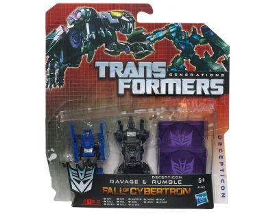 Transformers Generations transformovatelné disky  A1421 - A 1423 Frenzy&Ratbat