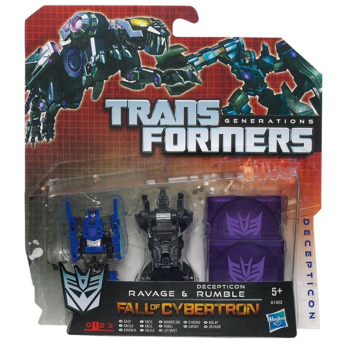 Hasbro Transformers Generations transformovatelné disky  A1421 - A 1423 Frenzy&Ratbat