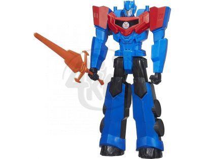 Hasbro Transformers Pohyblivý Transformer 30 cm se zvuky - Optimus Prime