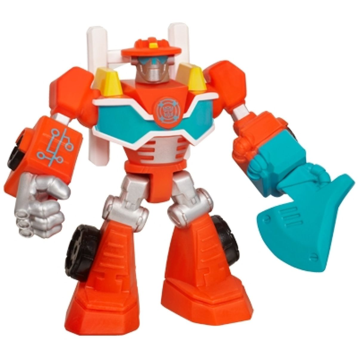 Transformers Rescue Dino-Bots minibot figurka Hasbro - Heatwawe the Fire-bot