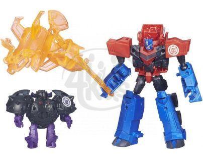 Hasbro Transformers Rid Transformer a Minicon - Optimus Prime vs. Bludgeon