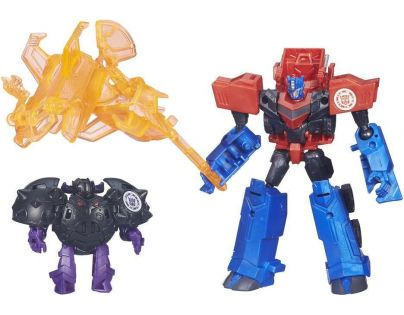 Hasbro Transformers Rid Transformer a Minicon - Optimus Prime vs. Bludgeon