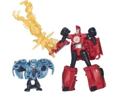 Hasbro Transformers Rid Transformer a Minicon - Sideswipe vs. Decepticon Anvil