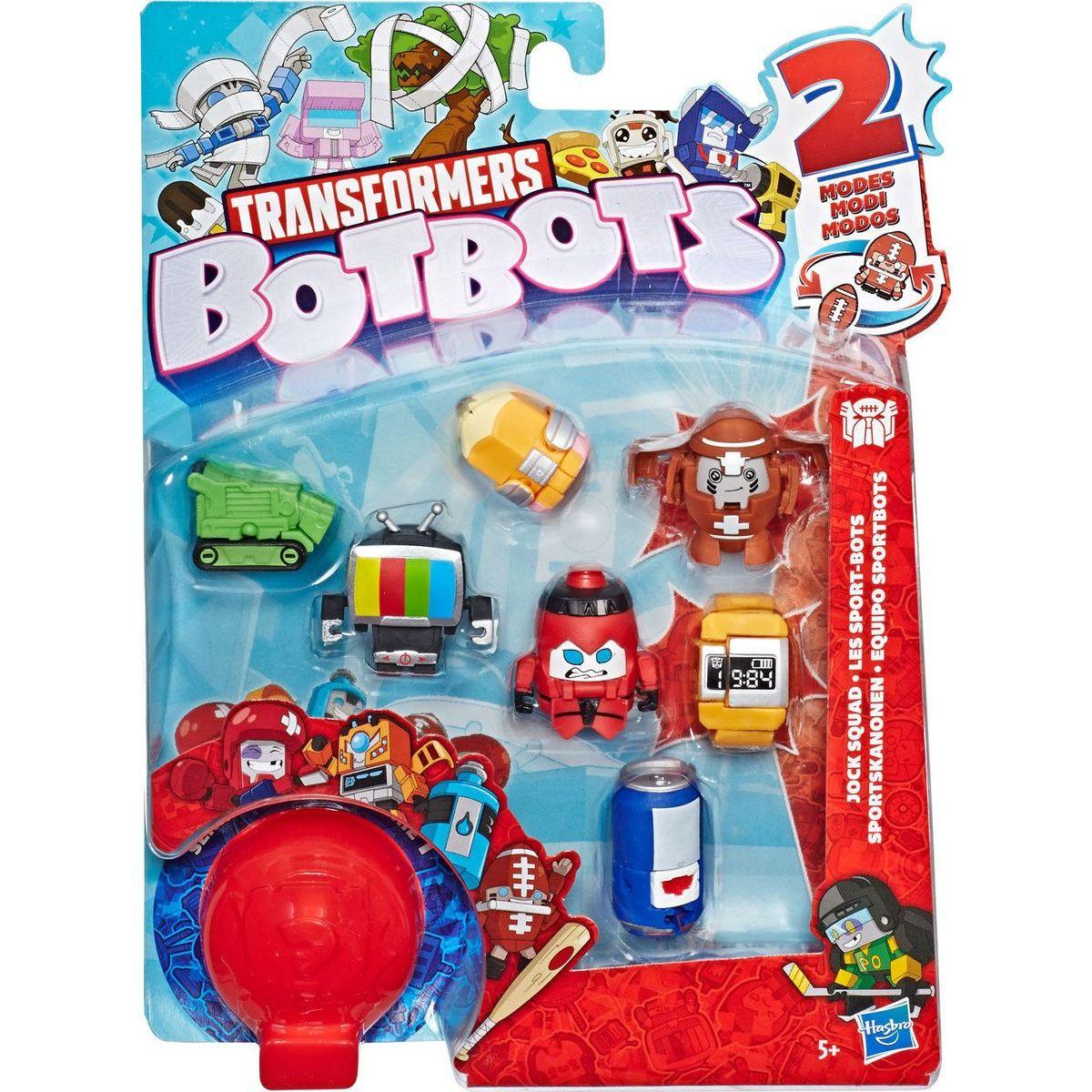 Hasbro Transfromers BotBots 8 figurek E4144 Digitální hodinky HASBRO