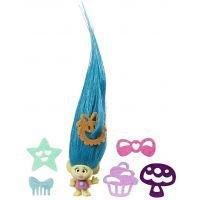 Hasbro Trollové Malá postavička s extra dlouhými vlasy Tiny Smidge