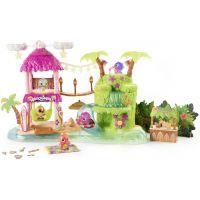 Hatchimals Svítící hrací sada Tropická párty