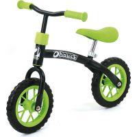 Hauck První kolo E-Z Rider 10 zeleno-černé