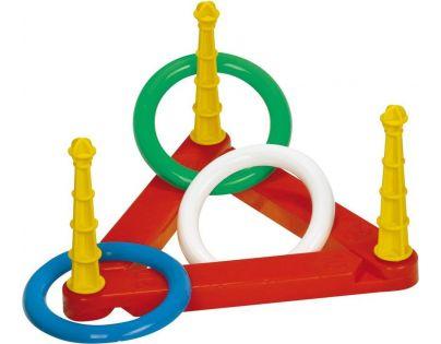 Toy Házecí kroužky plastové