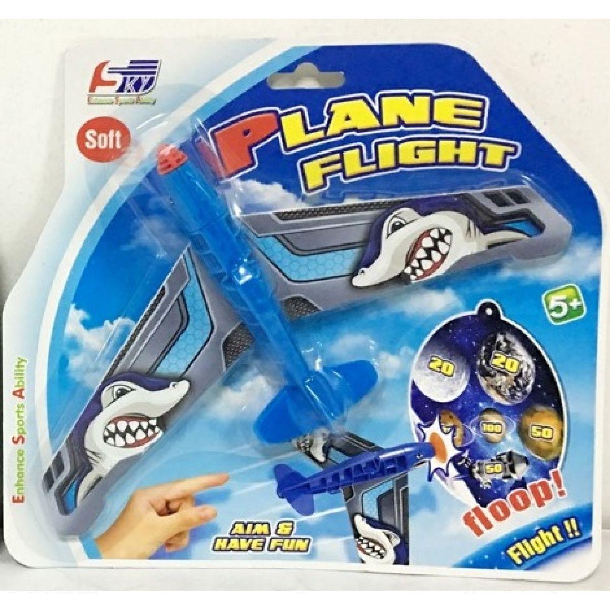 Alltoys Házecí letadlo s přísavkou modré