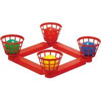 Toy Házecí míčky do košíku plastové