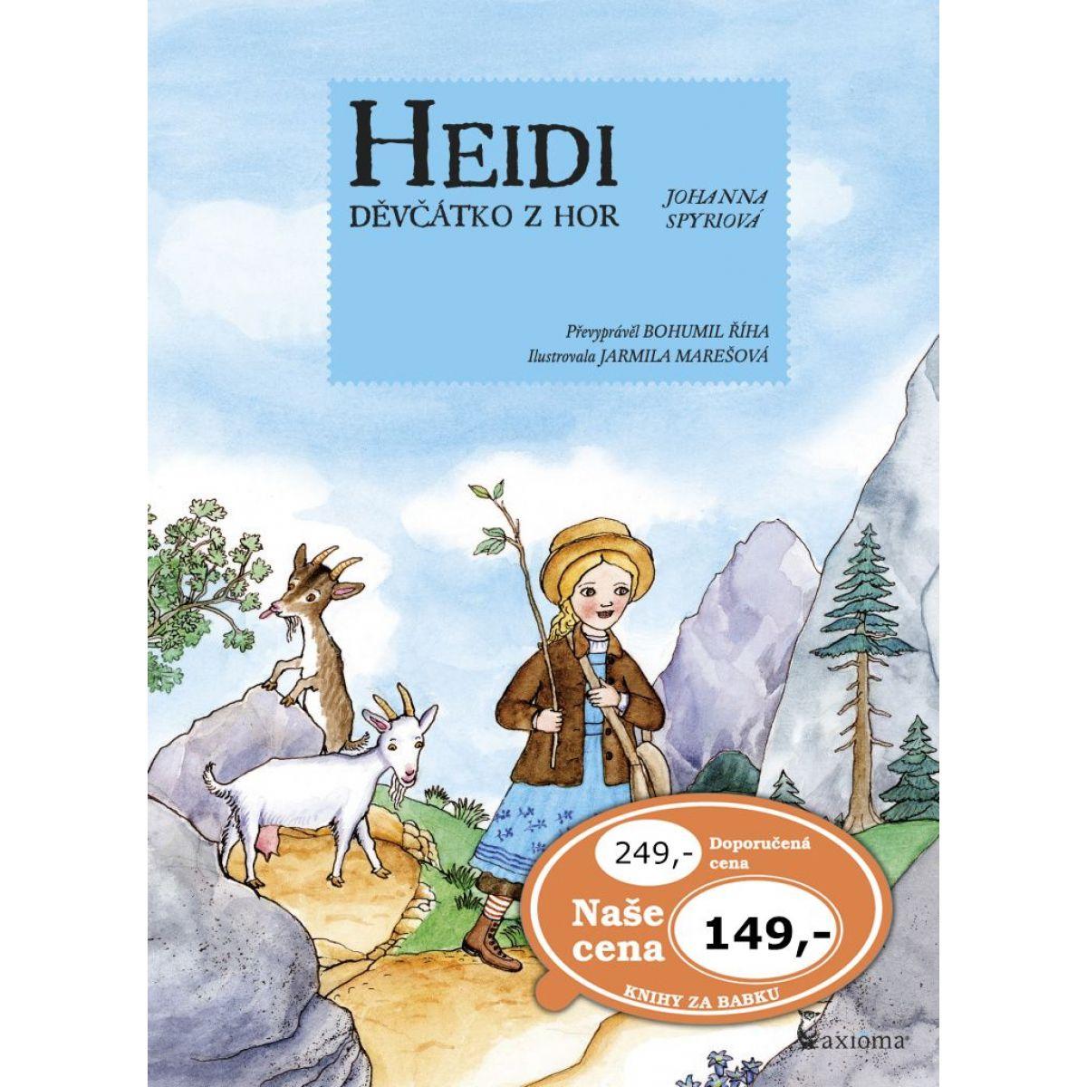 Axioma Heidi děvčátko z hor
