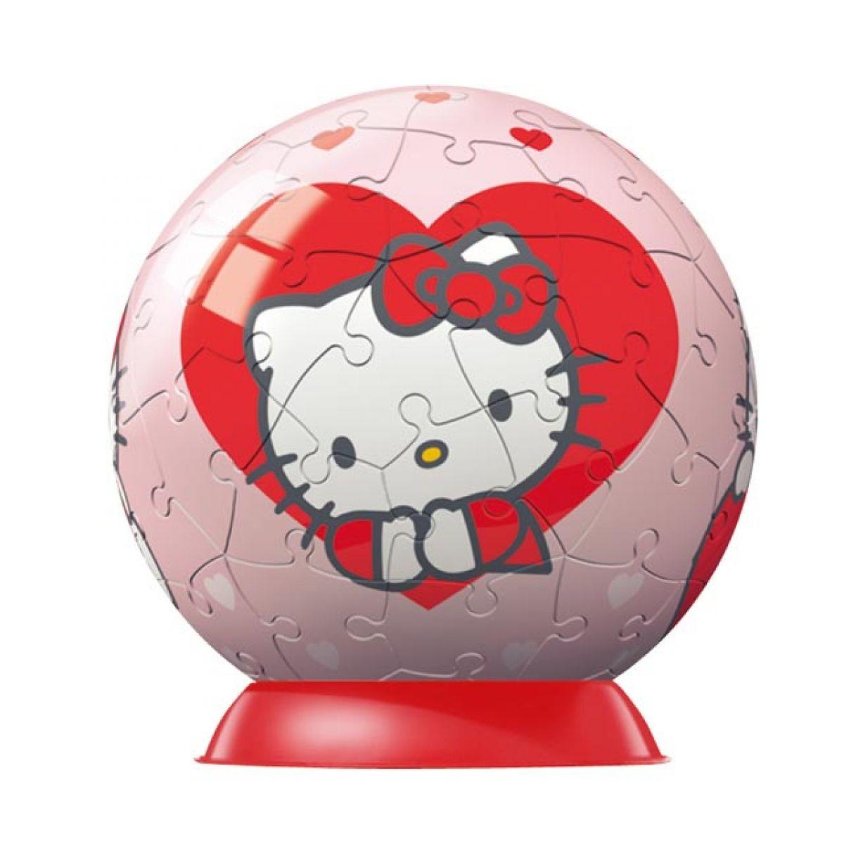 Ravensburger 09509 - Puzzleball Hello Kitty (60 dílků)
