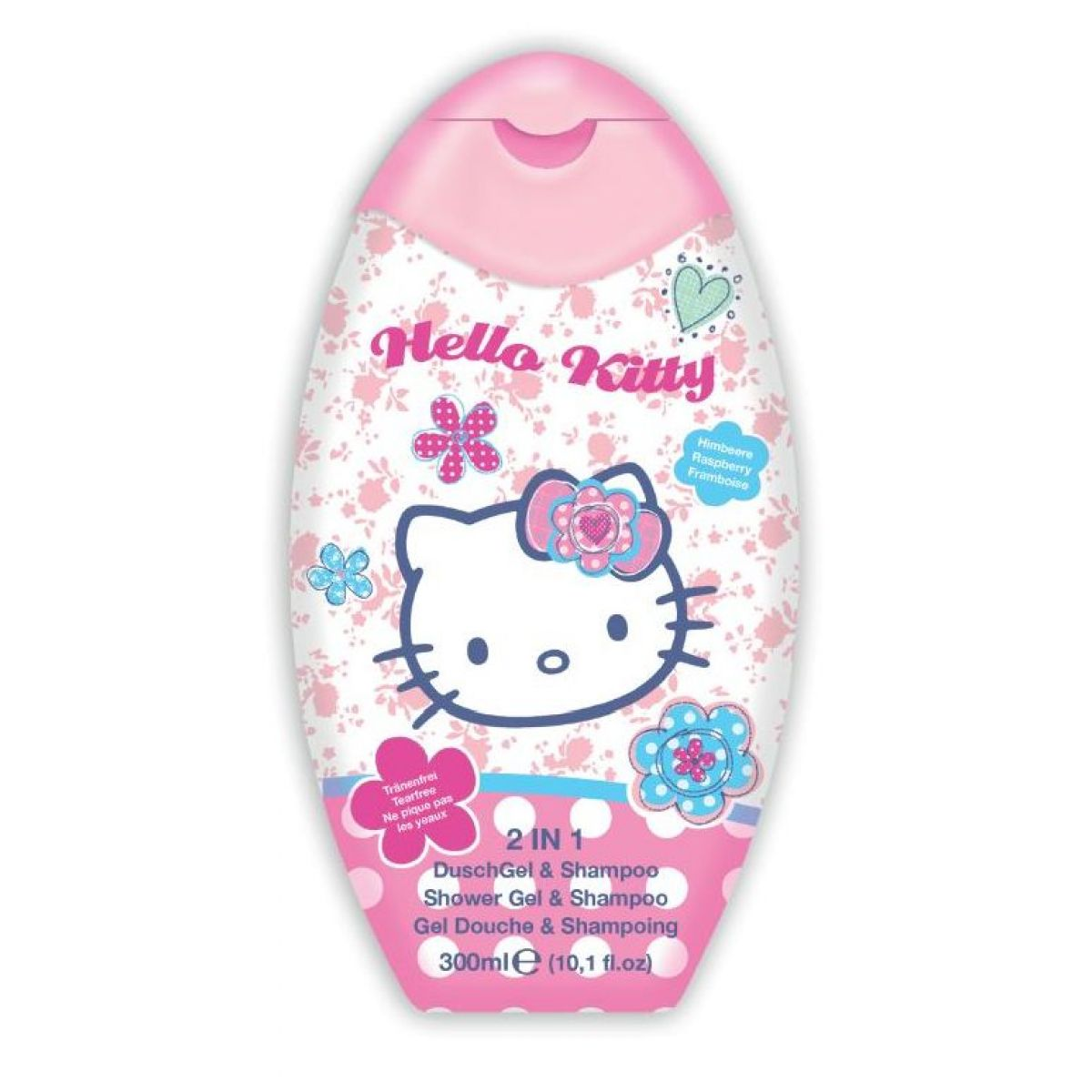 Hello Kitty Šampón a sprchový gel 2v1 300 ml