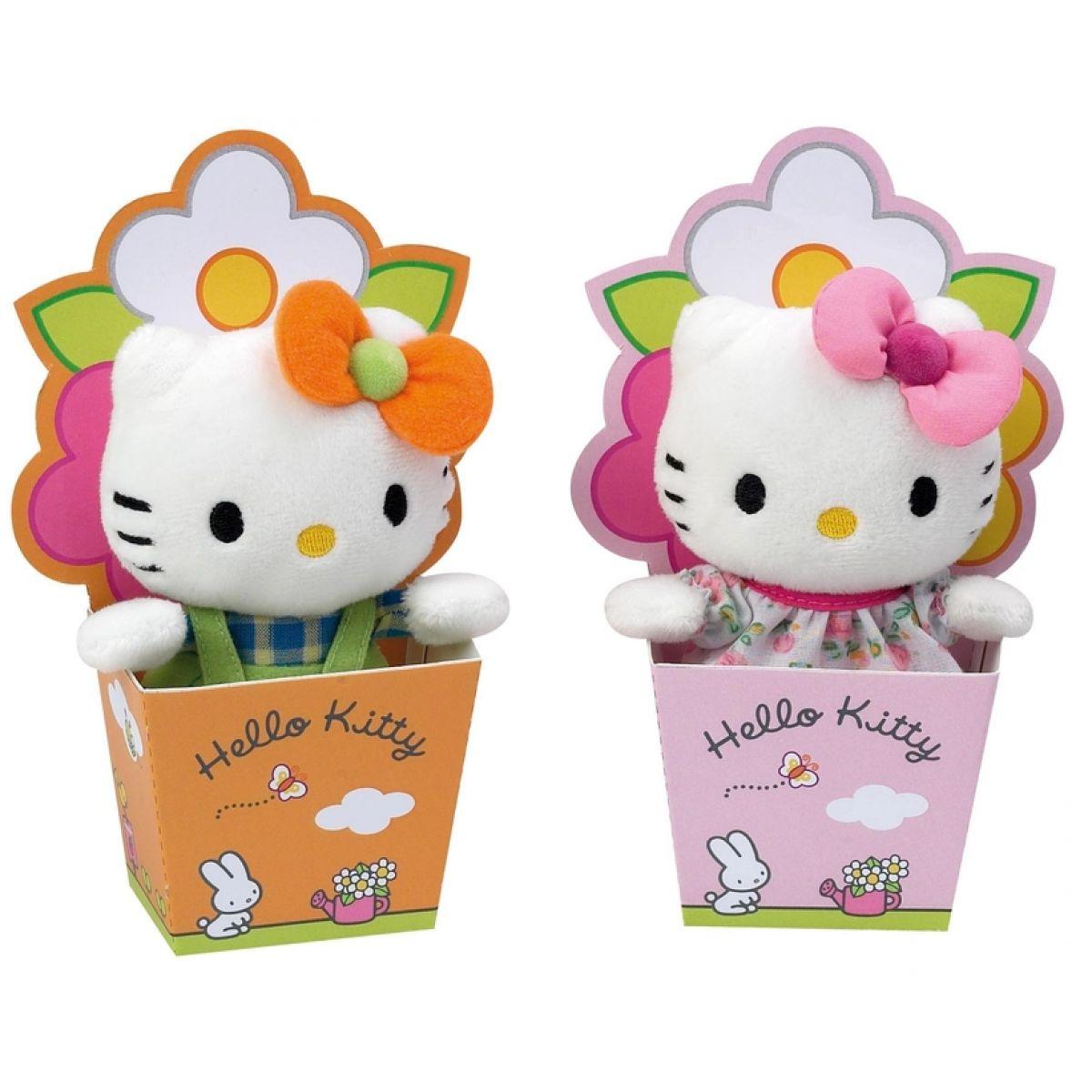Hello Kitty v květináči 12cm