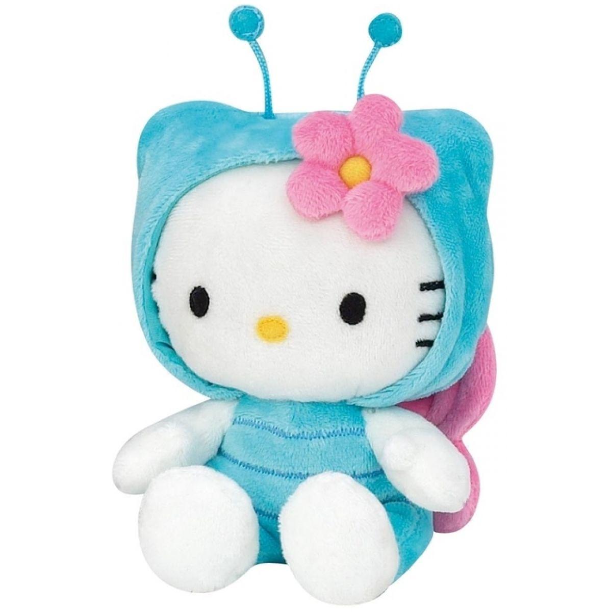 Hello Kitty v oblečku brouček 15 cm