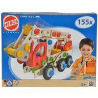 Heros Constructor Hasičské auto 155 dílů