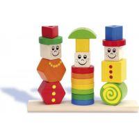 Eichhorn Dřevěná hra Puzzle figurky