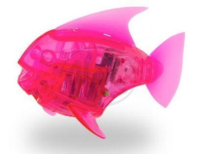 Hexbug Aquabot Led - Piraňa růžová
