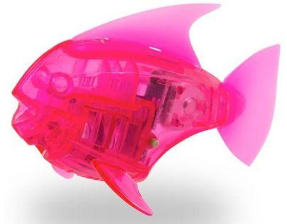 Hexbug Aquabot Led s akváriem - Piraňa růžová