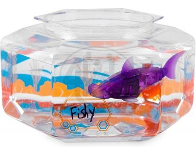 Hexbug Aquabot Led s akváriem - Kladivoun fialový