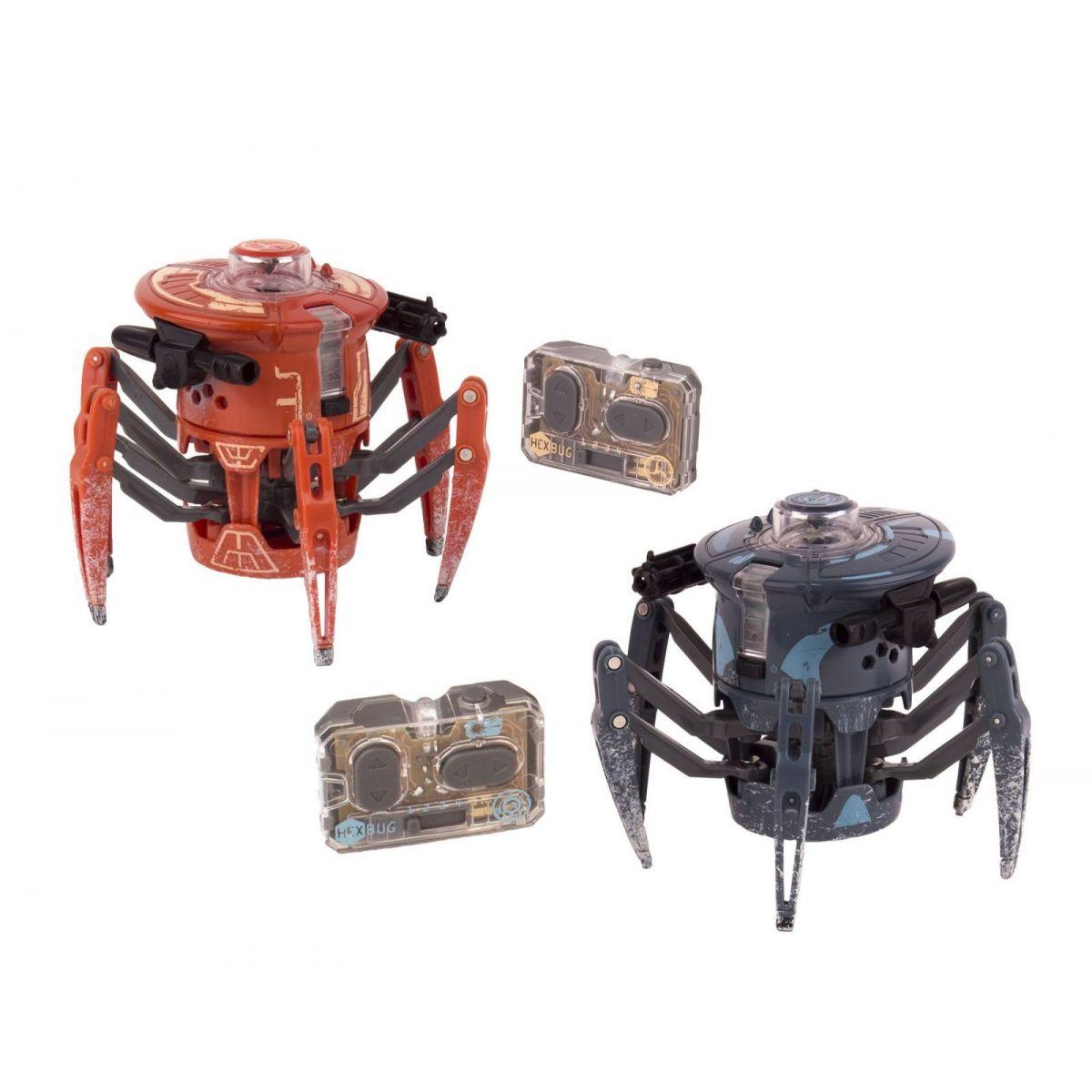 HEXBUG Bojový pavouk 2.0 oranžová - modrá