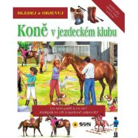 Sun Hledej a Objevuj Koně v jezdeckém klubu