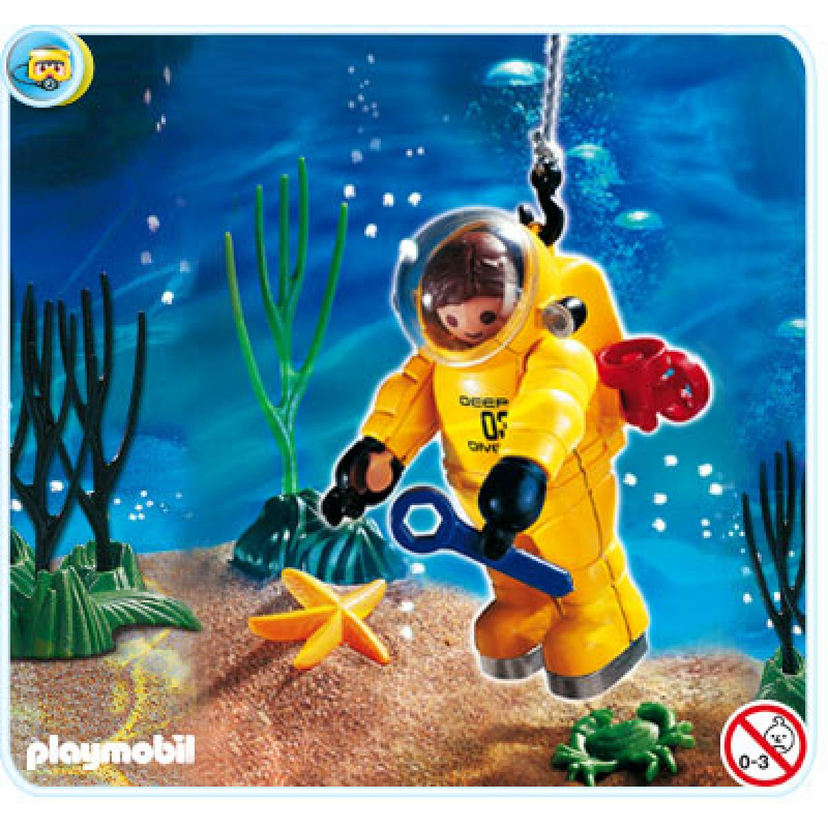 Playmobil 4479 - Hlubokomořský potápěč