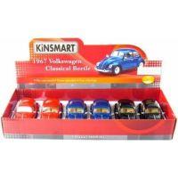 HM Studio 1967 VW Classical Beetle 1:24 modrý 5