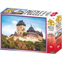 HM Studio 3D puzzle ČR Hrad Karlštejn 500 ks