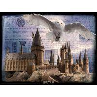 HM Studio 3D puzzle Harry Potter Bradavice a Hedwig 500 ks