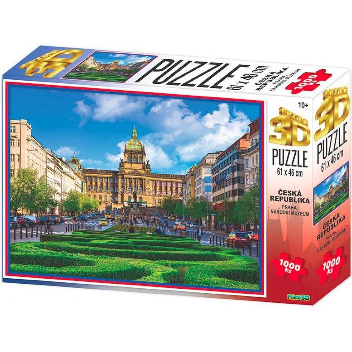HM Studio 3D puzzle Praha Národní Muzeum 1000 KS