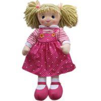 Hm Studio Panenka textilní růžové šaty 50 cm