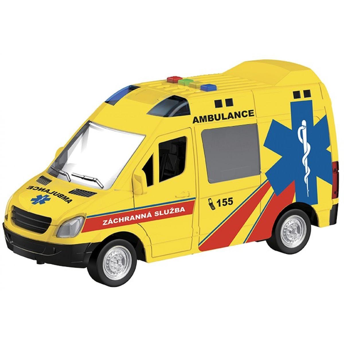 HM Studio Ambulance 1:16 na setrvačník