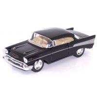 HM Studio Auto Chevrolet Bel Air 1957 - Černá