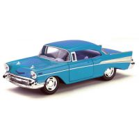 HM Studio Auto Chevrolet Bel Air 1957 - Modrá