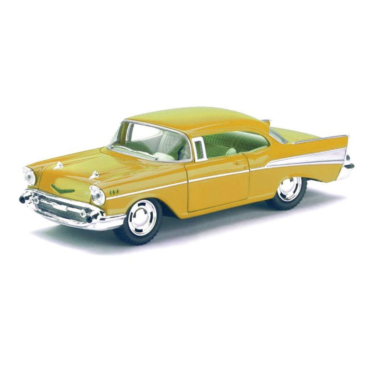 HM Studio Auto Chevrolet Bel Air 1957 - Žlutá