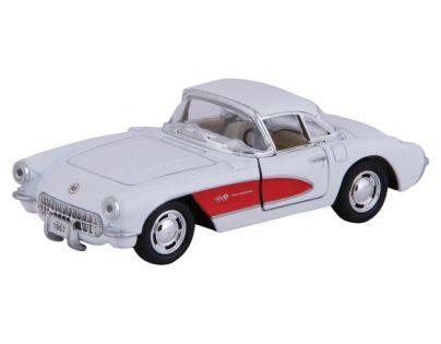 HM Studio Auto Chevrolet Corvette 1957 - Bílá