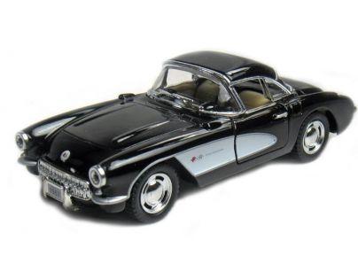 HM Studio Auto Chevrolet Corvette 1957 - Černá