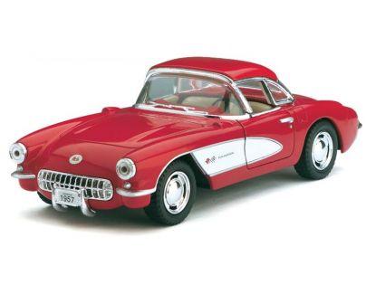HM Studio Auto Chevrolet Corvette 1957 - Červená