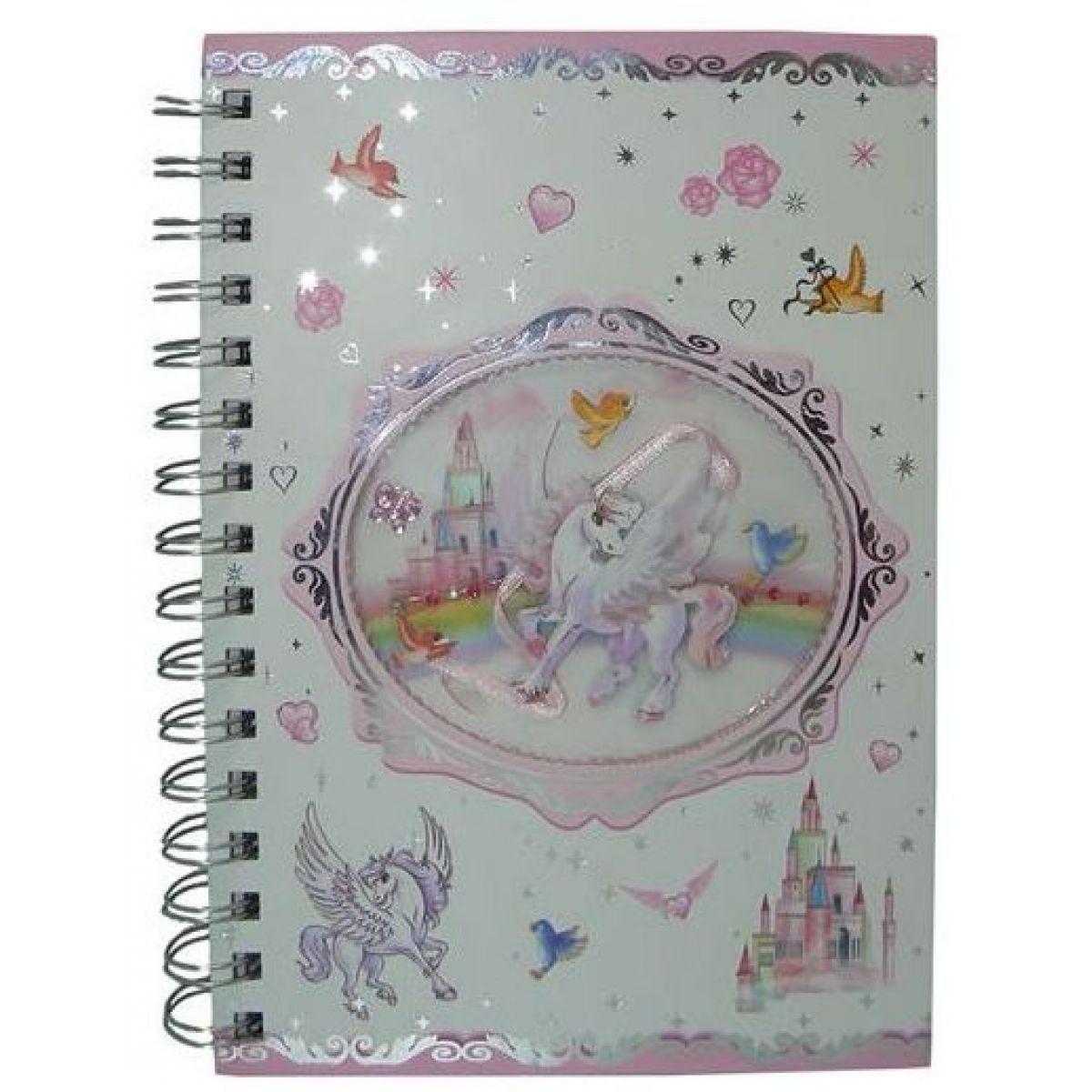 Deník - růzový zápisník