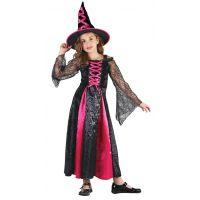 HM Studio Dětský kostým Čarodějka130 - 140 cm