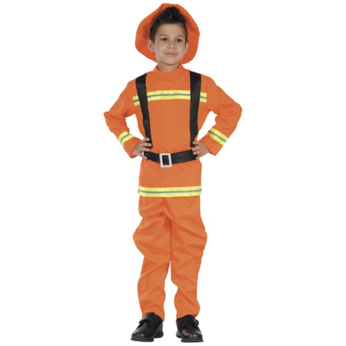 HM Studio Dětský kostým Hasič 130-140 cm